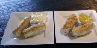 kroketbroodje uit Airfryer
